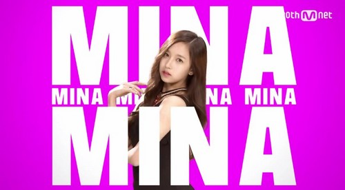 Twice (JYP Ent) پیپر وال possibly with a portrait entitled Mina
