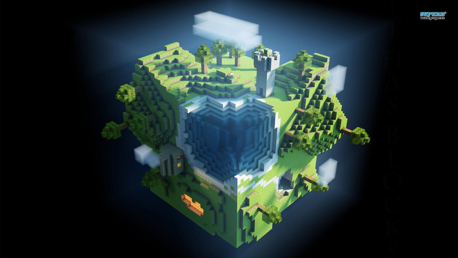 Minecraft Minecraft Fond Décran 38685831 Fanpop