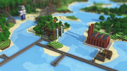 Minecraft wallpaper titled Minecraft