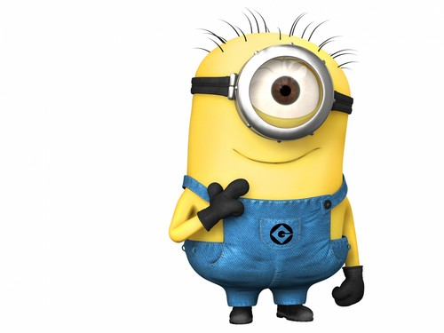 Despicable Me Minions kertas dinding probably with a vacuum, a horse trail, and a hoover titled Minions