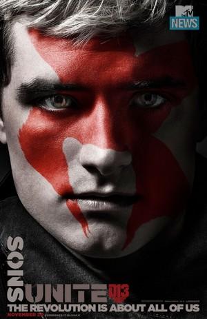 Mockingjay, Part 2: Faces of the Revolution: Peeta Mellark