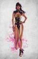 Mortal  Kombat X Tanya - mortal-kombat fan art