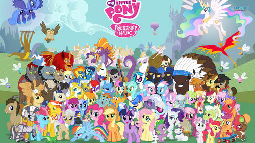 My Little pony Hintergrund titled My Little pony