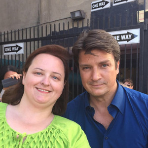 Nathan and a fan-BTS season 8