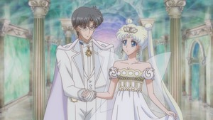 Neo-Queen Serenity and King Endymion