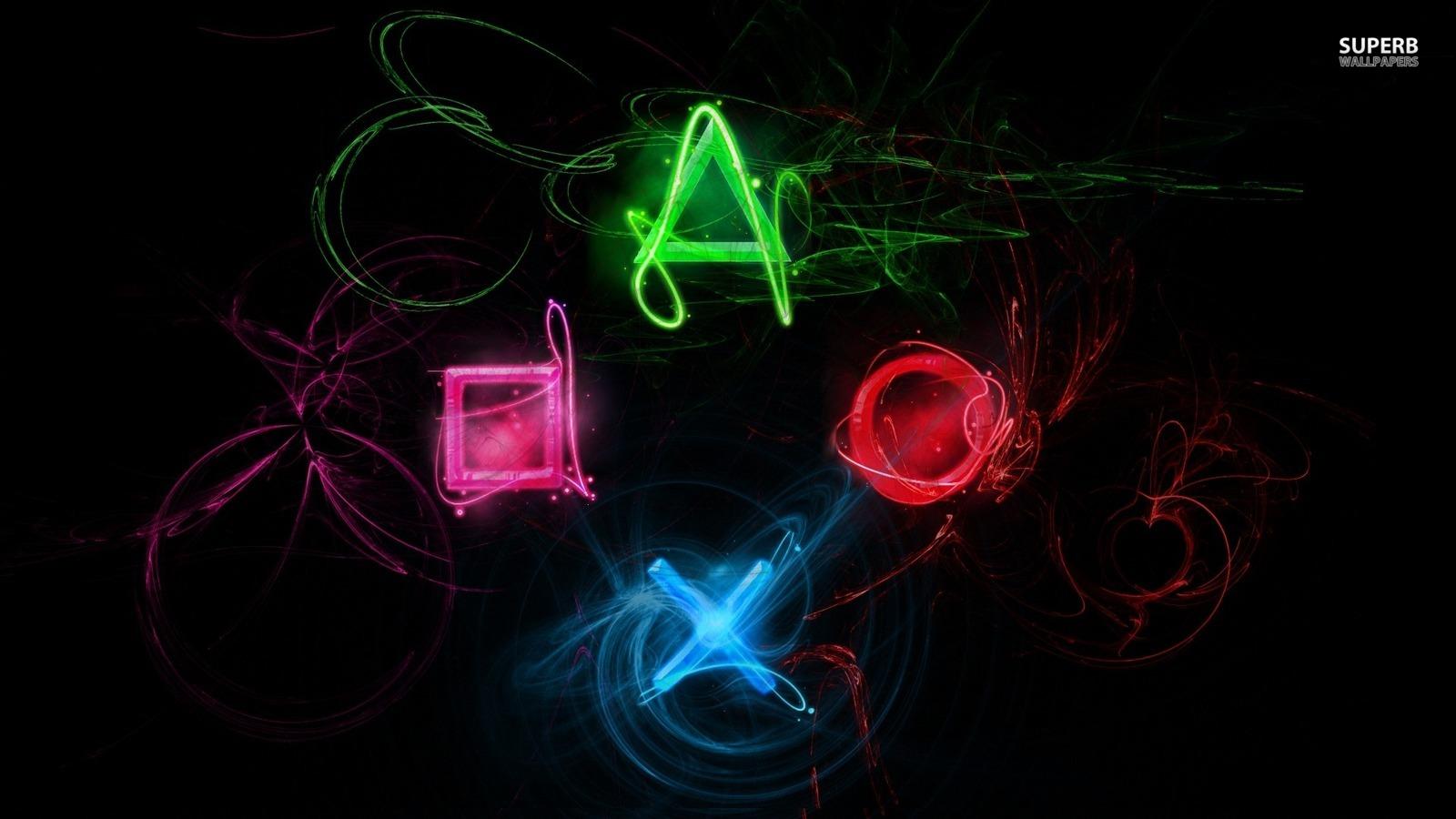 Neon Playstation