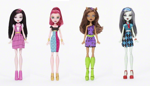 Monster High achtergrond entitled New Dolls 2016
