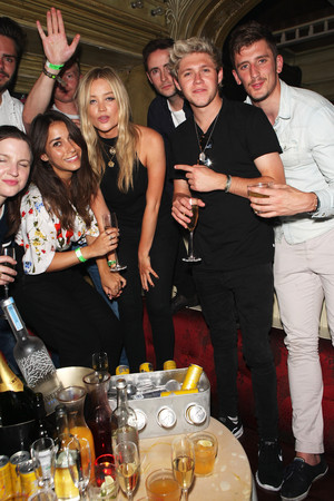 Niall at the Red 황소, 불 Tropical Edition Party at the Box in Soho