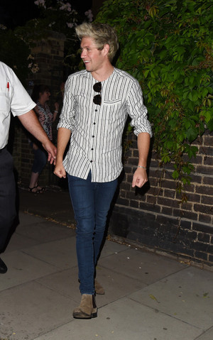 Niall attending Modest party