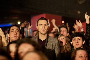 Nicholas Hoult as Steven Stelfox in Kill Your Friends First Look