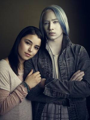 Nicole Munoz and Jesse Rath in Defiance