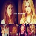OTH AU FANCAST; Lydia & Sawyer - leyton-family-3 fan art