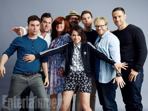 Orphan Black Cast at 2015 Comic-Con