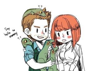 Owen, Claire, and Raptors