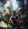 Owen and his Velociraptors