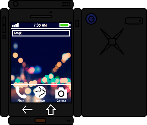 Papercraft Black Phone 2