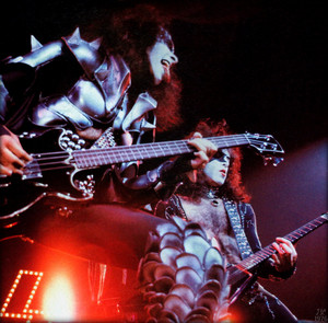 Paul and Gene 1976