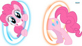 Pinkie Portals! - my-little-pony wallpaper