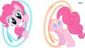 Pinkie Portals! - my-little-pony-friendship-is-magic wallpaper