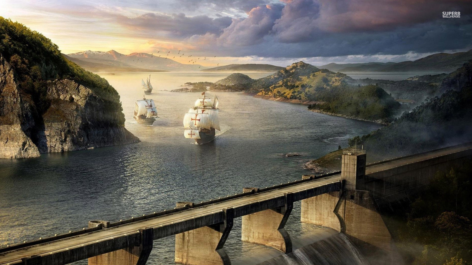 Pirates images pirate ship hd wallpaper and background photos 38694454 - Wallpaper photos ...