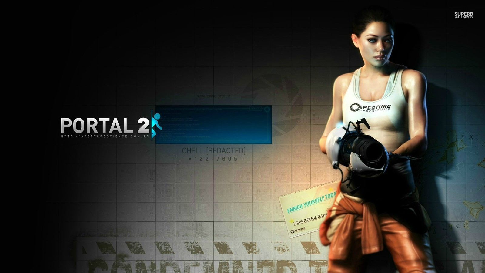 Portal 2 Fond Decran Probably With A Hip Boot And Stockage Empoissonnement