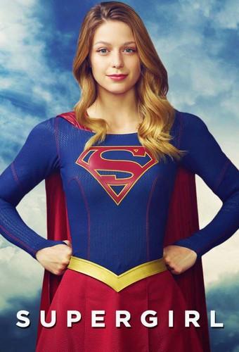 Supergirl (2015 TV Series) hình nền possibly with a dashiki, a blouse, and a hàng đầu, đầu trang called Poster