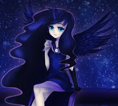 My Little pony - L'amicizia è magica wallpaper called Princess Luna Human