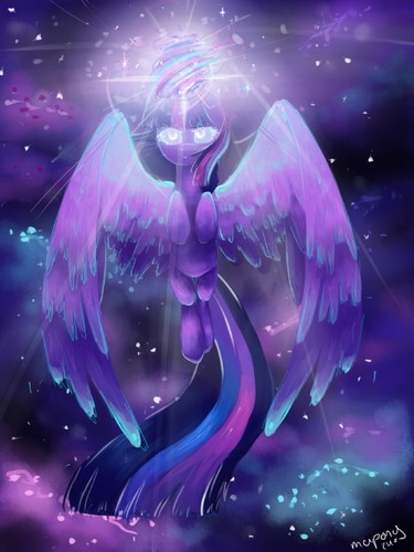 My Little Pony Friendship is Magic wallpaper called Princess Twilight Sparkle