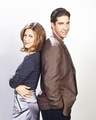Rachel and Ross - friends photo
