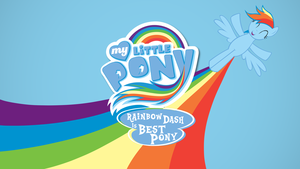 arco iris Dash Is Best poni, pony