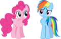 Rainbow Dash & Pinkie Pie - rainbow-dash photo