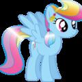 Rainbow Dash when she is Crystal Pony.  - rainbow-dash photo