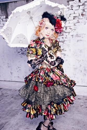 Black Gene For The selanjutnya Scene wallpaper with a parasol titled Rame