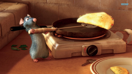 Disney wallpaper containing a tamale titled Ratatouille
