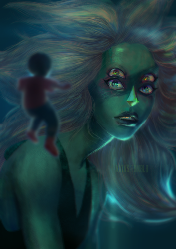 steven universe wallpaper entitled Realistic Malachite