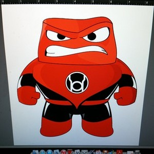Red Lantern Rage