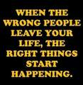 Right things happen - quotes photo