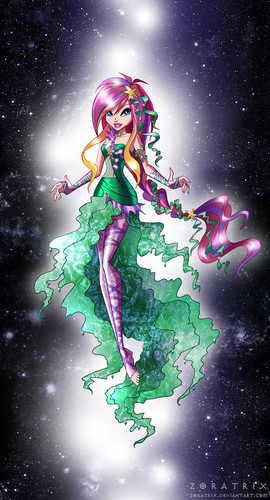 Winx Club fond d'écran containing animé titled Roxy gothique Sirenix