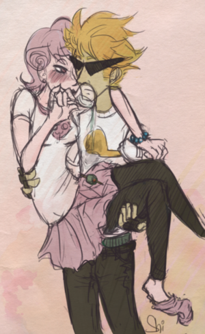 Roxy and punhal, dirk