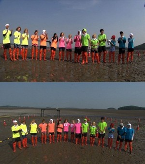 SNSD on 'Running Man'