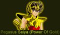 Saint Seiya Pegasus Seiya (Power of Gold)