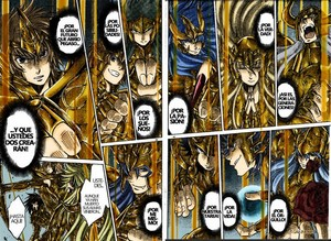 Saint Seiya Soul of Gold Colored Manga Gold Saints
