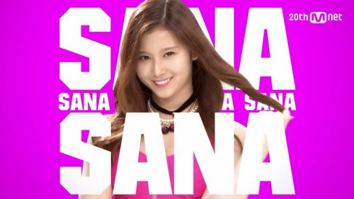 Twice (JYP Ent) 壁紙 containing a portrait titled Sana