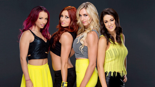 WWE Divas achtergrond possibly with attractiveness titled Sasha Banks,Becky Lynch,Charlotte,Bayley