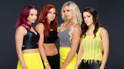 Diva WWE kertas dinding called Sasha Banks,Becky Lynch,Charlotte,Bayley