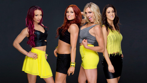 Dive WWE wallpaper called Sasha Banks,Becky Lynch,Charlotte,Bayley
