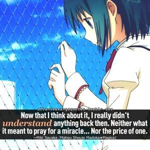 Sayaka Miki Quote