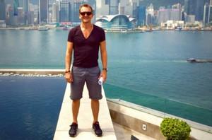 Seb in Hong Kong
