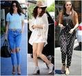 Selena Gomez jalan, street Style