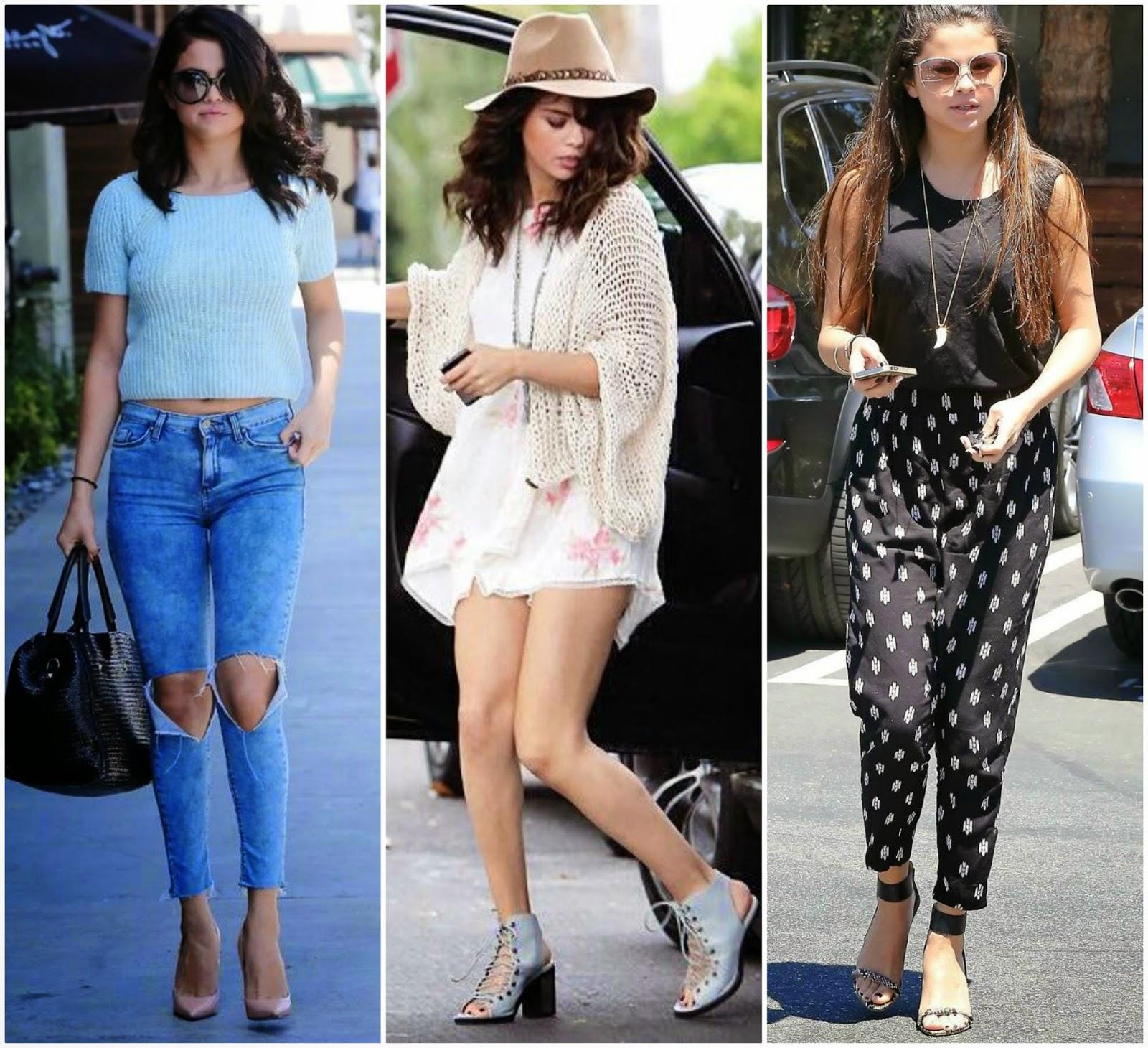 Selena Gomez 街, 街道 Style